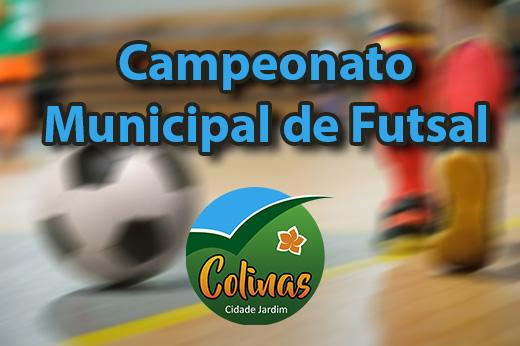 Futsal: 4ª rodada é transferida para hoje.