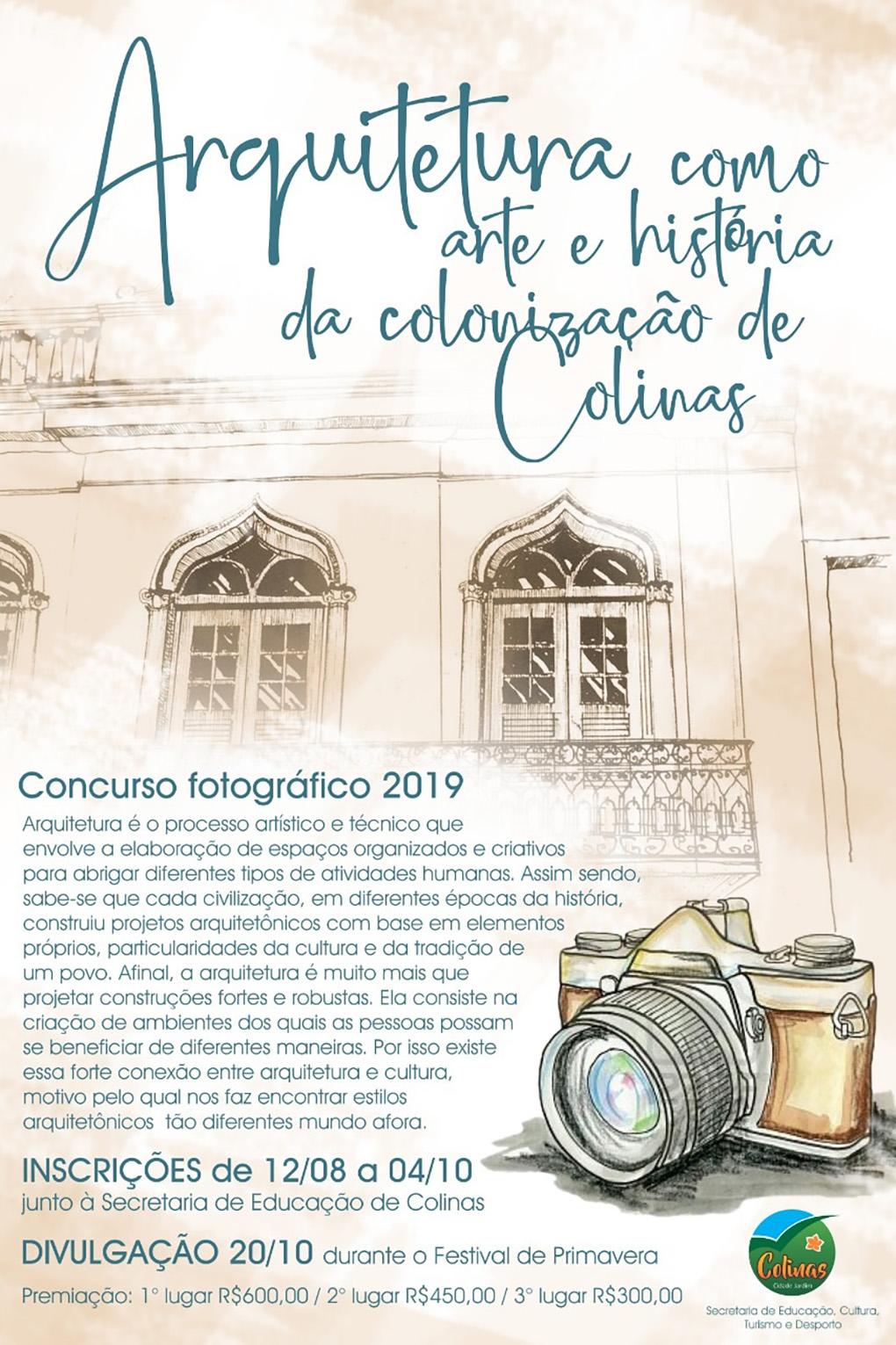11º concurso fotográfico de Colinas abre inscriç...