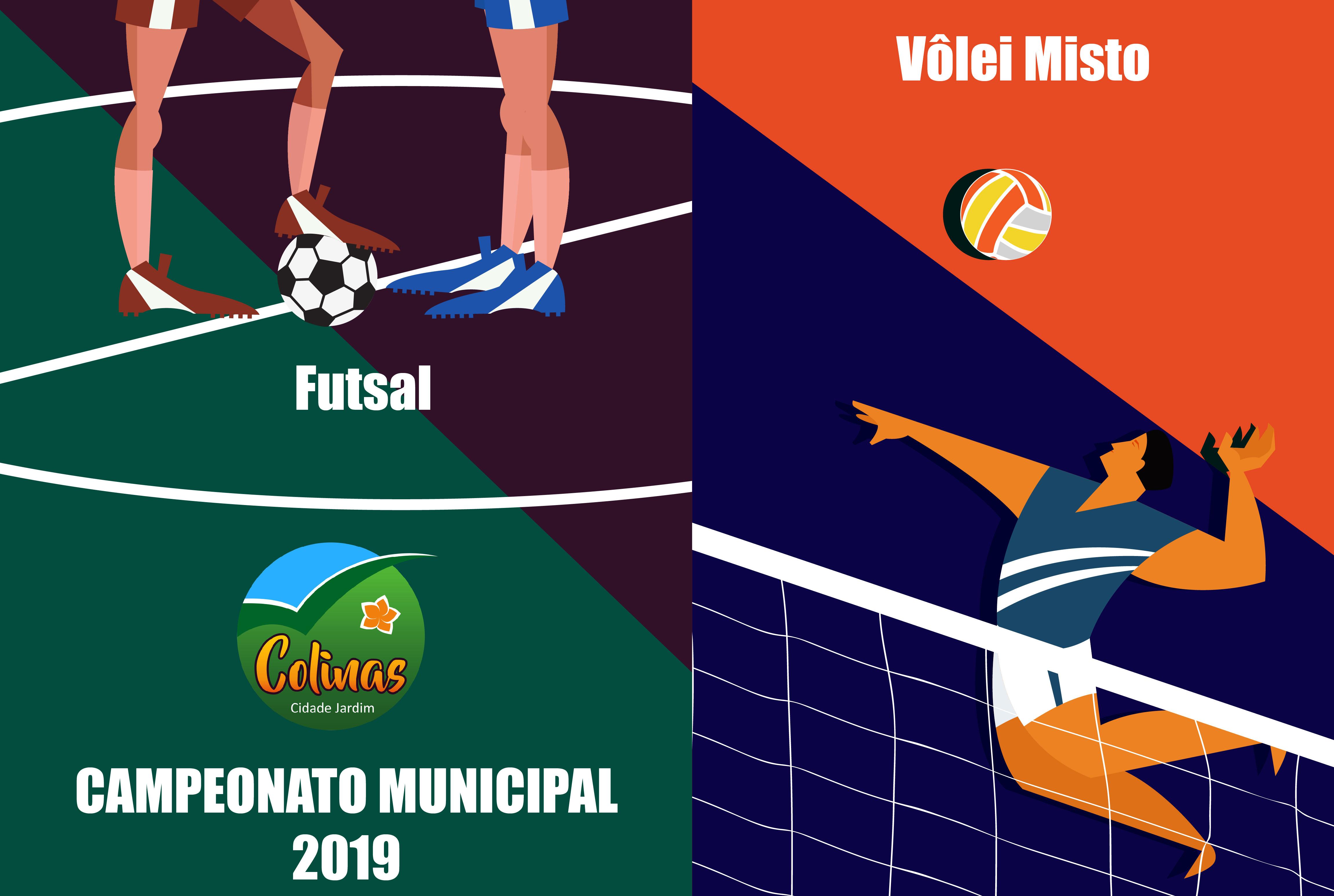 Campeonato de Futsal e Vôlei segue na sexta-feir...