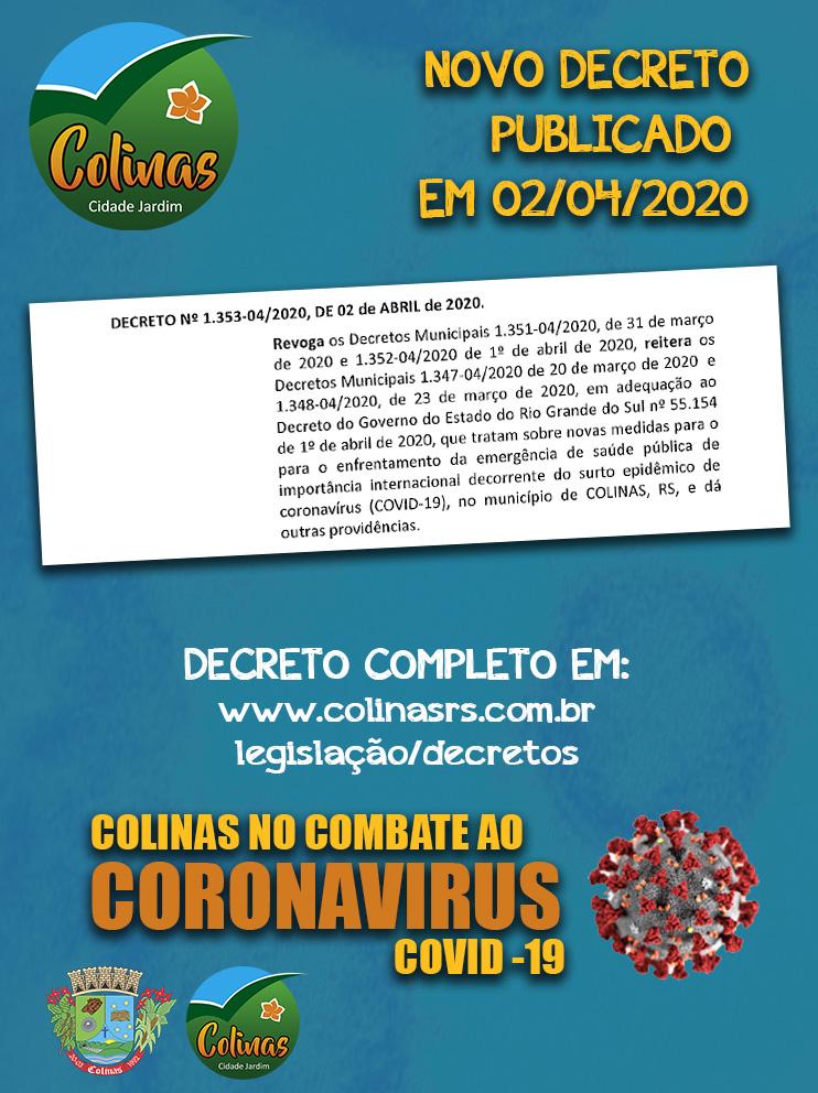 Decreto 02/04/2020